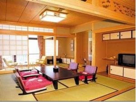 <禁煙>やわらぎ荘特別室☆二間続きでオーシャンビューのお部屋
