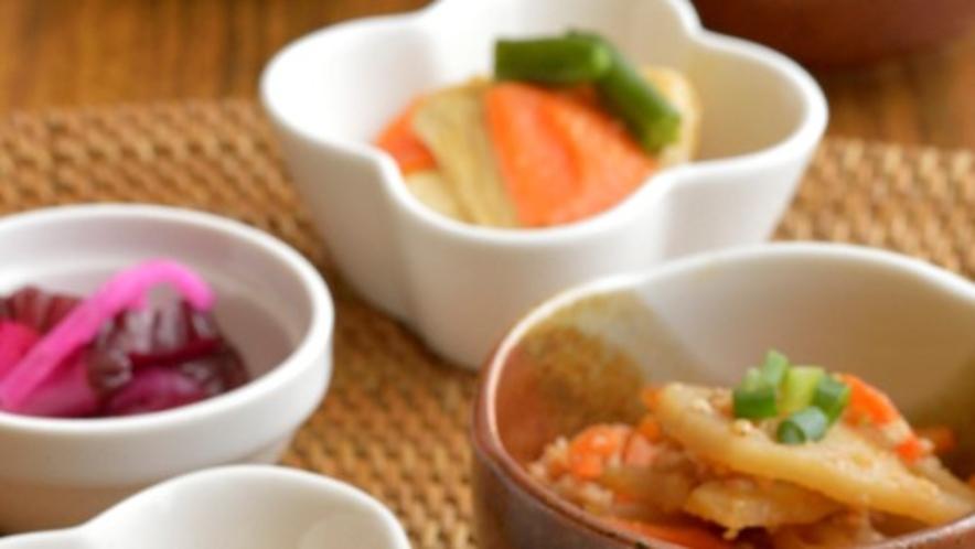 日替わりの副菜【朝食イメージ】