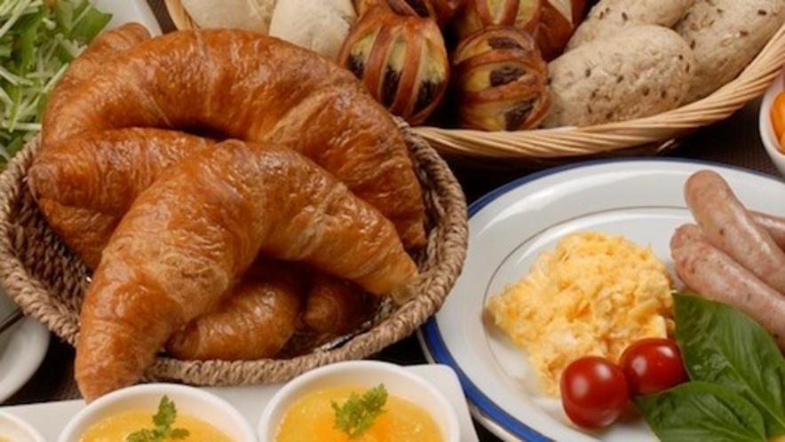 洋食も勢揃い【朝食イメージ】
