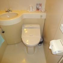 【洋室ツインルーム】バス、トイレ