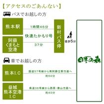 アクセス:阿蘇くまもと空港より快特たかもり号バスにて約40分。