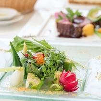 洋食アマワリ・キムタカコース/料理一例