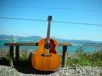 海とギター