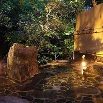 貸切露天風呂「滝見の湯」