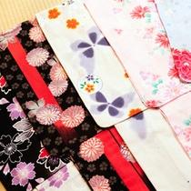 色つき浴衣(10種類)