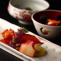 紅塵庵の料理(イメージ)