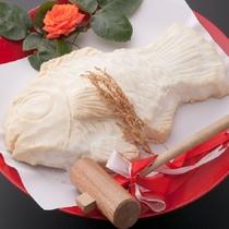 鯛の塩窯焼き(イメージ)