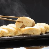 出汁巻き玉子(料理人実演でふわふわです)