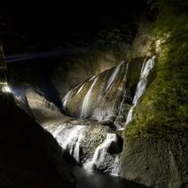 期間限定♪袋田の滝 ライトアップ