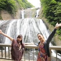 恋愛パワースポット「袋田の滝」