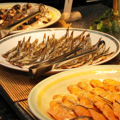 焼き魚(朝食)
