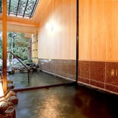 和楽貸切風呂【さざんか】檜・サウナ、水風呂付き