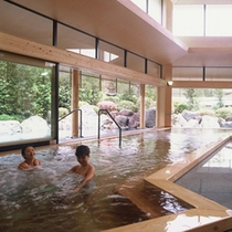 本館大浴場「夢殿」泡風呂