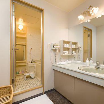 【客室(和洋室)】洗面台一例