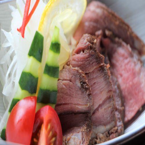 【お重膳】ローストビーフサラダ♪