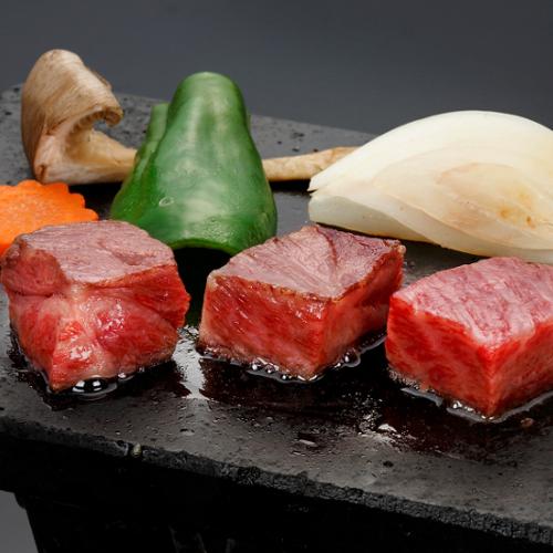 【ご夕食 和牛溶岩焼】