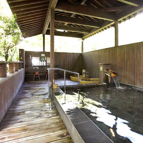 【男性露天風呂】湯の山の自然に癒される露天風呂!