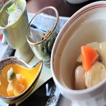 【朝食和定食】素朴な味付け!当館自慢の炊き合わせ