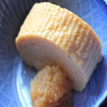 【朝食和定食】大人気!出し巻き玉子