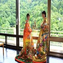 【打掛体験】日本女性を輝かせる「和」!海外のお客様からも大好評♪