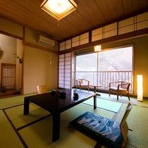 【秋夕の間】-コンパクト和room-(8畳/バス付)