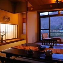 ≪グレードup≫【冬雪の間】~榊原川を眺めて~(10畳/バス)