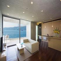 【Residencial Suite】110平米のレジデンスリビング