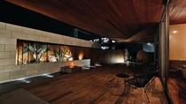 【別邸:Residence Suite】1F/テラス