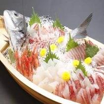 料理 舟盛り