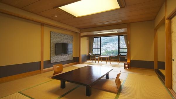 和室16畳+和洋室ツインベッドルーム