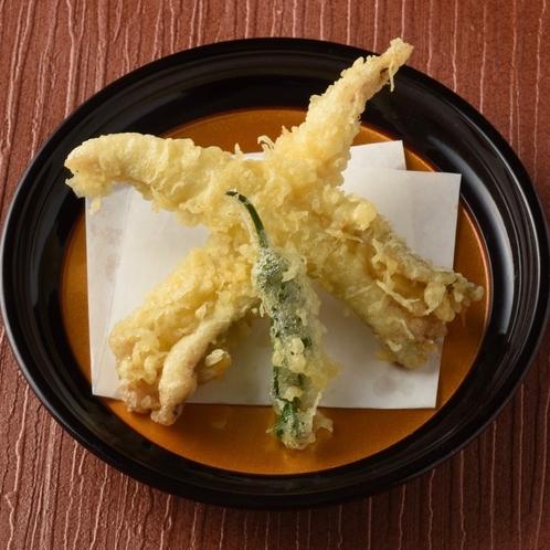 夕食:天ぷら