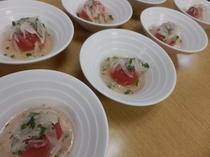 お料理(トマトサラダ)