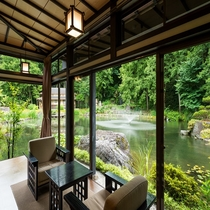 円通の間 御居間屋敷 大庭園 景観