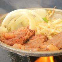 料理 無菌豚ときのこ鍋2