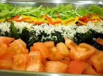 ■竹林定食【フレッシュサラダ】