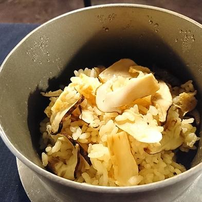【秋の味覚◆松茸を味わう】土瓶蒸し×天婦羅×松茸ご飯★信州産の松茸を使用★