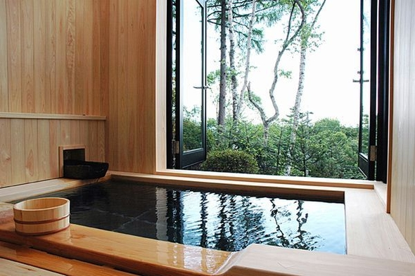 ★期間限定★<部屋食>のフレンチと温泉を堪能。展望風呂付き『別館』で