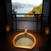 大地の間絶景の露天風呂