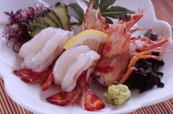 車えびのお刺身※アワビステーキと地魚プラン★(個室食)