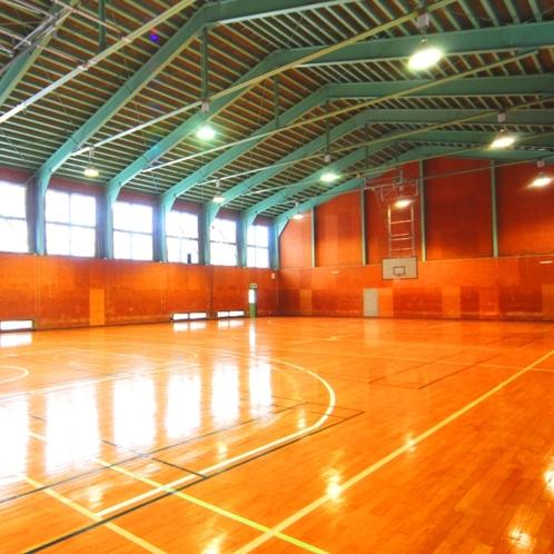 【付属施設】北原館直営、白馬中央体育館。スポーツ合宿や音楽合宿など幅広い用途に利用可能!