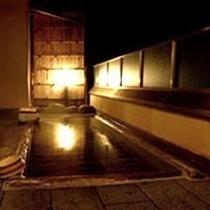 夜の展望露天風呂♪
