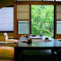 離れ青巒荘「山法師」1階座敷(14畳)