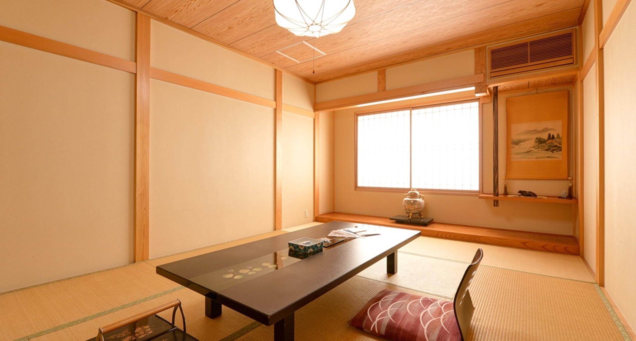 *和室10.5畳(楓)Kaede-no-ma 楓の間京都の風薫る茶室造り