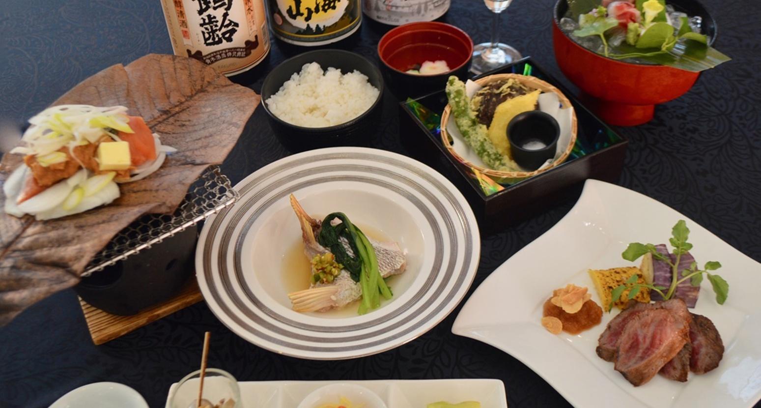 *和食スタンダードコース<夕食(基本)>