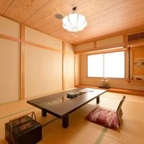 *和室(楓)/新和風の趣漂う、京都の風薫る茶室造りのお部屋。贅を凝らした調度品がワンランク上の休日へ。