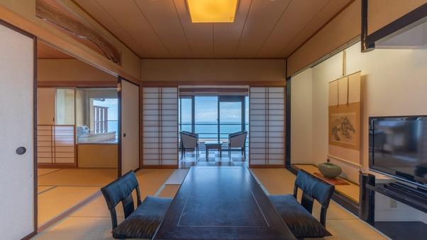 露天風呂付客室(二間・3階)