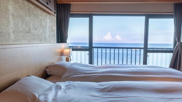蒼海亭(8畳+6畳・3階)二間・和洋室ベッドルーム