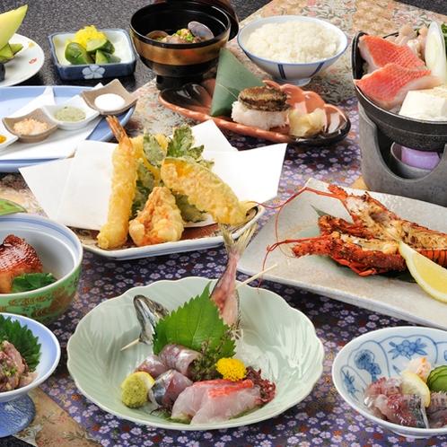 【ご昼食/和懐石・八丈島(一例)】
