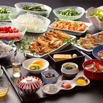 【ご朝食/和食膳(一例)】