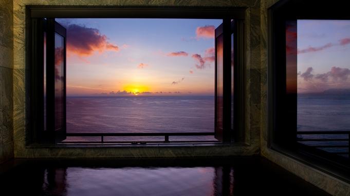 【CAREN展望風呂付客室/スタンダード】相模湾を見晴らす絶景と天然温泉を独占<バイシズオカ対象>